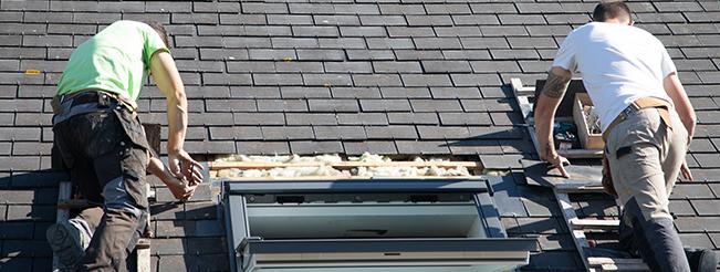 Changement de vos fenêtre de toit