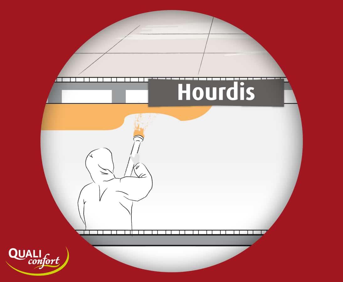 Isolation_toit_maison_hourdis_flocage