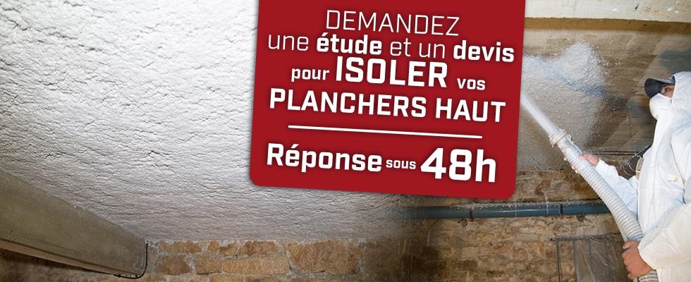 Isolation des planchers bas par Qualiconfort isolation, technique flocage- Finistère, Cote d'amor, Ile et Vilaine, Morbihan