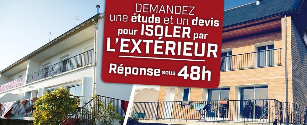 Isolation par l'extérieur par Qualiconfort, bardage nombreuses finitions - Finistère, Cote d'amor, Ile et Vilaine, Morbihan