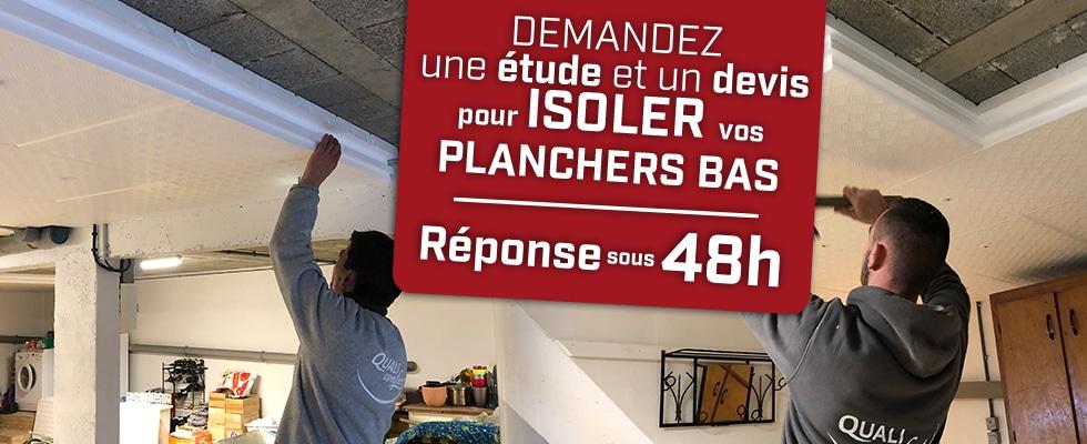 Isolation des planchers bas par Qualiconfort, technique dalles isolante rainurées - Finistère, Cote d'amor, Ile et Vilaine, Morbihan