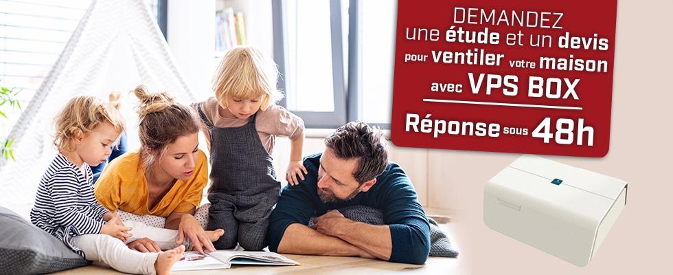 Ventilation par insufflation par Qualiconfort isolation, VPS BOX - Finistère, Cote d'amor, Ile et Vilaine, Morbihan